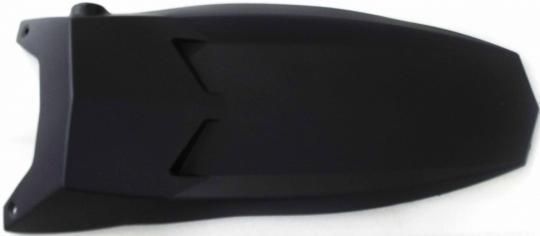 Щиток облицовочный рулевой колонки (черный)