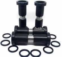 Комплект втулок с осями в задние кулаки для квадроциклов STELS ATV 650, 800, 850 GUEPARD