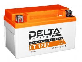 Аккумулятор Delta CT 1207 7(Ач)