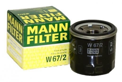 Масляный фильтр MANN W67/2