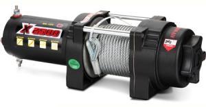 Master Winch X2500 стальной трос