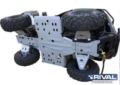 Комплект защиты днища ATV Stels 700 GT/600 GT (5 частей) (2010-)