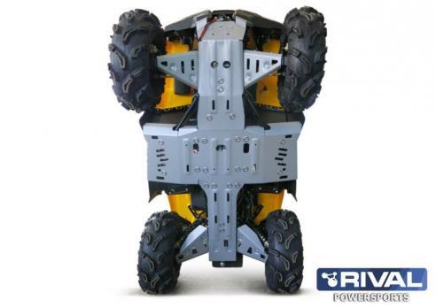 Комплект защита днища ATV Stels Guepard 800G (5 частей) (2015-)