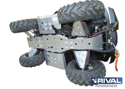 Комплект защиты днища Stels ATV 700 H, 500H, 450H (2010-) / Stels Leopard 600 (6 частей) (2014-)