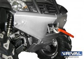 Комплект защиты (Бампер)+ комплект крепежа ATV CF X6 (Бампер) (2011-)