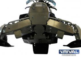 Комплект защиты днища Yamaha Phazer MT — X (2 части)(2012-)+ крепеж
