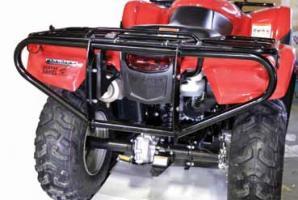 """Бампер для квадроцикла Honda TRX500 """"Quadrax"""" Elite, задний"""