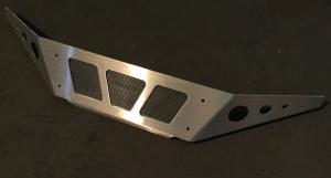 Алюминиевая накладка на бампер Yamaha Rhino