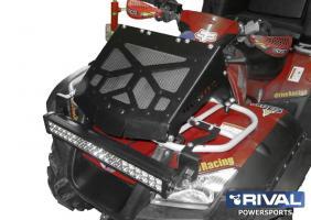 Вынос радиатора (с установочным комплектом) + комплект крепежа, (2011-) Honda TRX680